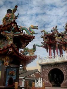 Taiwanese Temple Sky