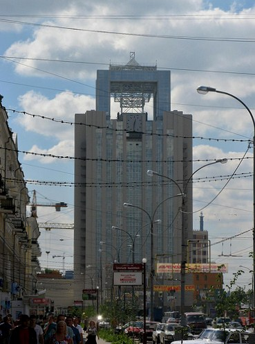 Russian Clocktower