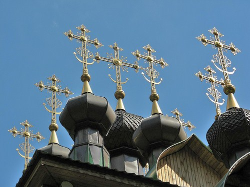 Hot Russian onion dome action