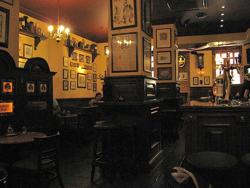 ..and that's what the Old Dublin Irish pub looks like....