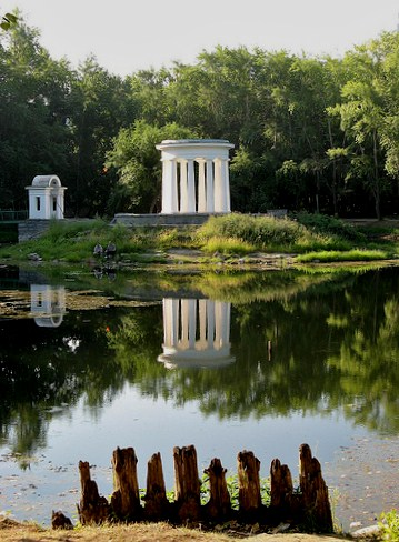 The oasis of calm in Yekaterinburg