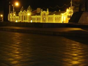 Near Lenin's Square