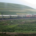 The Chengdu - Lhasa Express.  The highest train in the world.