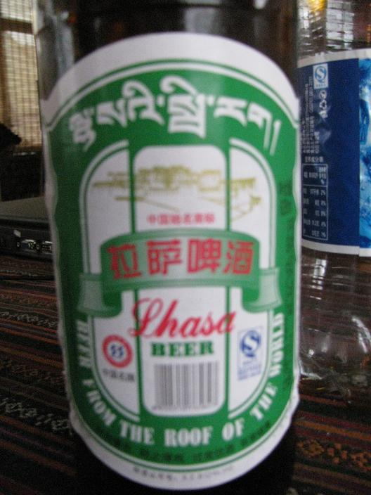 Lhasa Beer! - Best in China...
