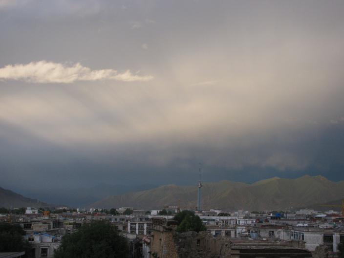Lhasa Sunset